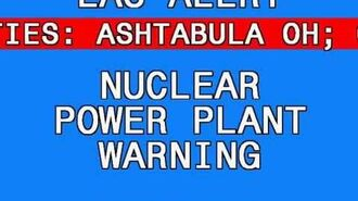 Nuclear Power Plant Warning Perry Plant