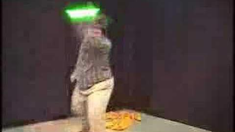 Star Wars kid Drunken Jedi