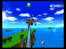 Wii Sports Resort Island Flyover