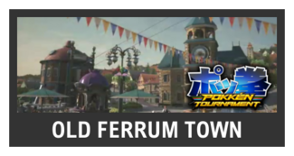 Super Smash Bros. Strife stage box - Old Ferrum Town