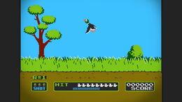 SSB4U Duck Hunt stage