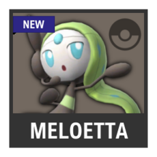 Super Smash Bros. Strife character box - Meloetta