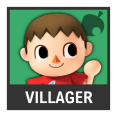Super Smash Bros. Strife character box - Villager
