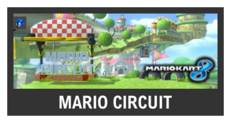 Super Smash Bros. Strife stage box - Mario Circuit