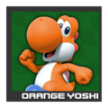 ACL Mario Kart 9 character box - Orange Yoshi