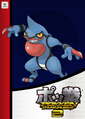 Pokken Tournament 2 amiibo card - Toxicroak