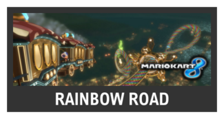 Super Smash Bros. Strife stage box - Rainbow Road