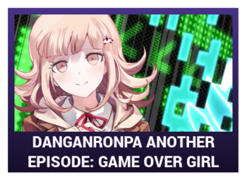 J-Games game box - DRAE Game Over Girl