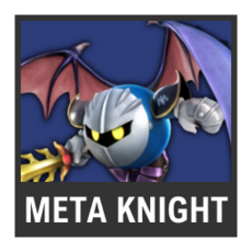 Super Smash Bros. Strife character box - Meta Knight