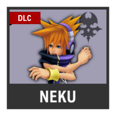 Super Smash Bros. Strife character box - Neku