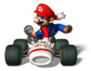 Brawl Sticker Mario (Mario Kart DS)