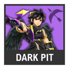 Super Smash Bros. Strife character box - Dark Pit
