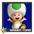 ACL Mario Kart 9 character box - Green Toad
