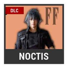 Super Smash Bros. Strife character box - Noctis