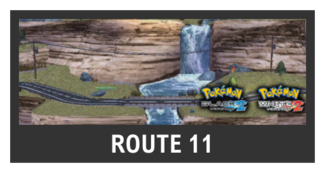 Super Smash Bros. Strife stage box - Route 11