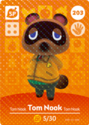 Tom Nook - AC amiibo card 2