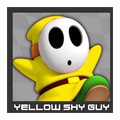 ACL Mario Kart 9 character box - Yellow Shy Guy