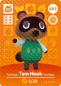 Tom Nook - AC amiibo card