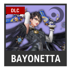 Super Smash Bros. Strife character box - Bayonetta