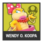 Super Smash Bros. Strife character box - Wendy O. Koopa