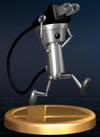 Chibi-Robo - Brawl Trophy