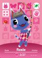 Rosie - AC amiibo card festival