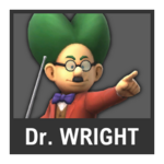 Super Smash Bros. Strife Assist box - Dr. Wright