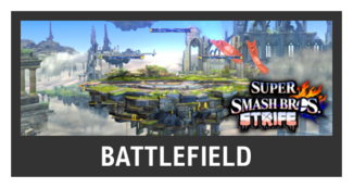 Super Smash Bros. Strife stage box - Battlefield