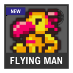Super Smash Bros. Strife Assist box - Flying Man