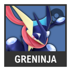 Super Smash Bros. Strife character box - Greninja