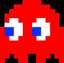 Blinky Pac-Man original sprite