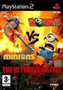 Worms vs. Minions The Ultimate Battle PS2 PAL cover art