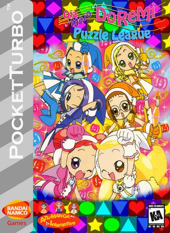 File:Ojamajo DoReMi Puzzle League Box Art 3.png
