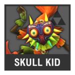Super Smash Bros. Strife Assist box - Skull Kid