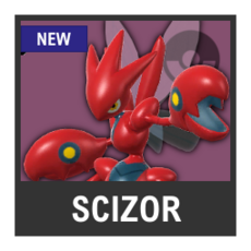 Super Smash Bros. Strife character box - Scizor