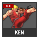 Super Smash Bros. Strife Assist box - Ken
