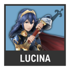 Super Smash Bros. Strife character box - Lucina