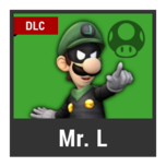 Super Smash Bros. Strife character box - Mr. L