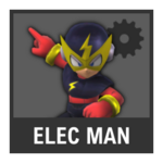 Super Smash Bros. Strife Assist box - Elec Man