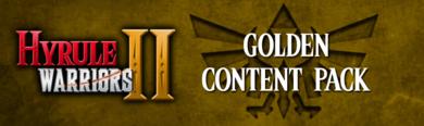 Hyrule Warriors II - Golden Content Pack