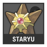 Super Smash Bros. Strife Pokémon box - Staryu