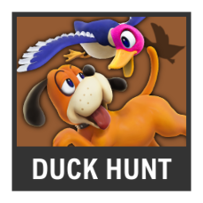 Super Smash Bros. Strife character box - Duck Hunt