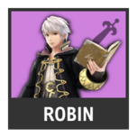 Super Smash Bros. Strife character box - Robin M