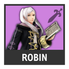 Super Smash Bros. Strife character box - Robin
