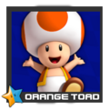 ACL Mario Kart 9 character box - Orange Toad