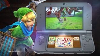 Hyrule Warriors Nintendo 3DS Gameplay Trailer