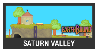 Super Smash Bros. Strife stage box - Saturn Valley