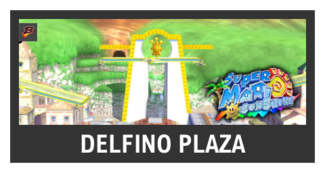 Super Smash Bros. Strife stage box - Delfino Plaza