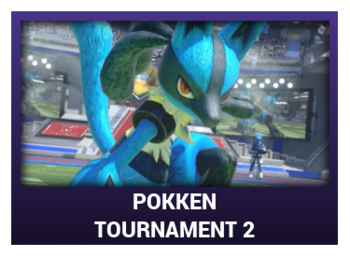 J-Games game box - Pokken Tournament 2