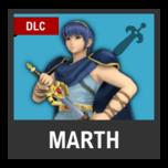 Super Smash Bros. Strife character box - Marth FE1
